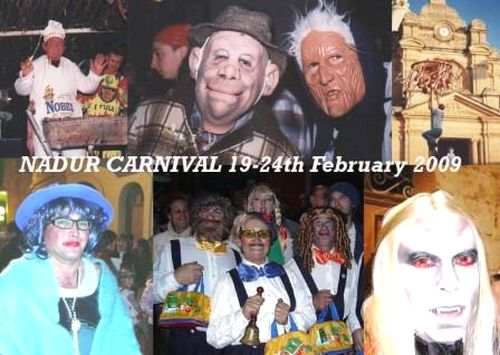 The Nadur Carnival Week for February 2009