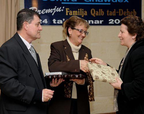 38th edition of the 'Familja Qalb tad-Deheb' Award