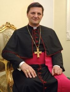 The Bishop of Gozo, Mgr Mario Grech
