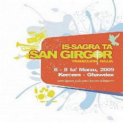 Is-Sagra ta' San Girgor at Kercem next month