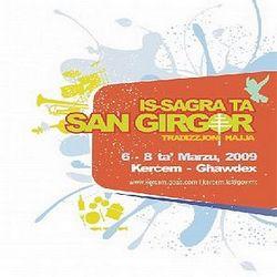 Is-Sagra ta' San Girgor at Kercem next month