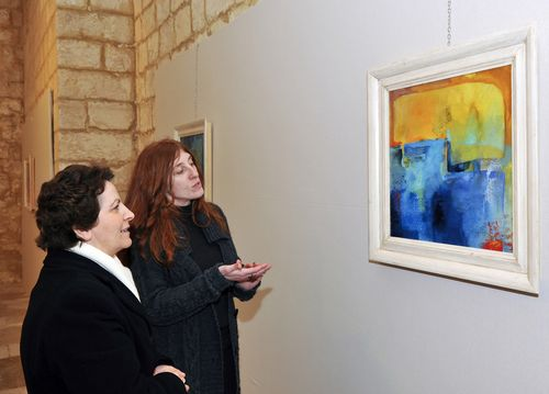 Exhibition by Italian artist Daniela Roselli inaugurated
