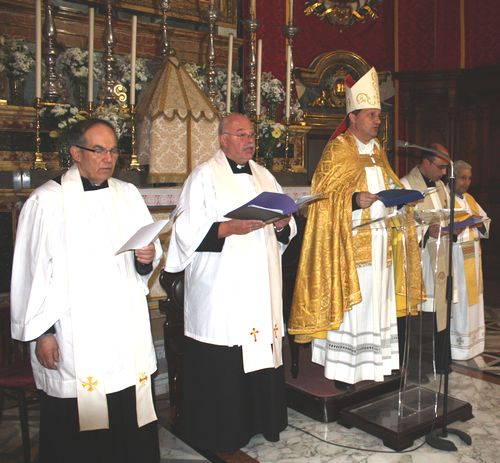Ecumenical Service at Munxar Parish Church