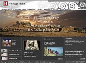 Heritage Malta launches brand new website