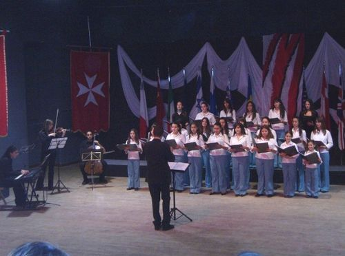 Fjur t'Assisi Choir in the International Choir Festival 2006
