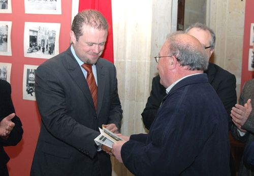 Gozitan Poet's 50th Anniversary Commemorative Card