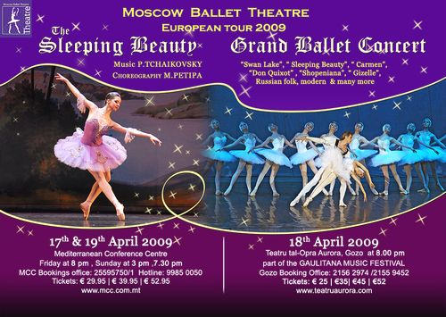 Gaulitana 'A Festival of Music' - the Moscow Ballet