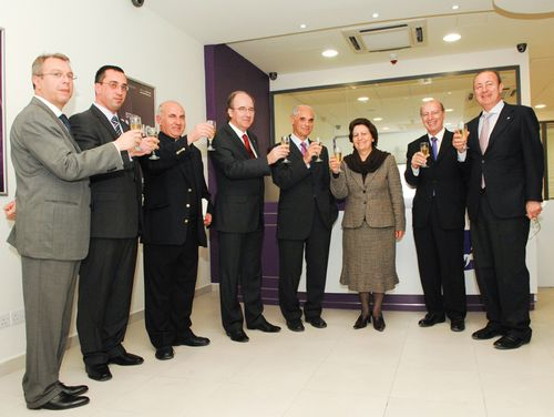 A new Banif Bank branch opens in Gozo