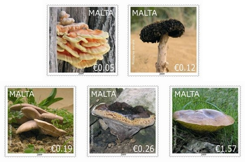 MaltaPost issues new stamp set featuring fungi