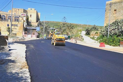 €8.6 million road works programme for Gozo