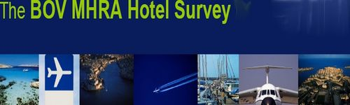 Hotel bed occupancy shows a significant drop