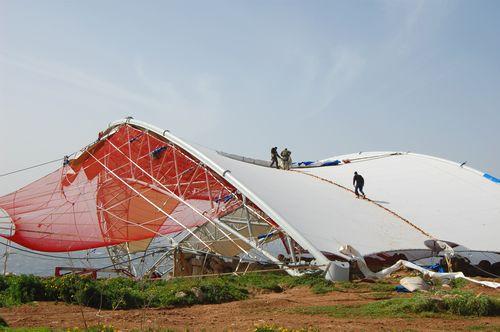 Mnajdra temples shelter suffers slight damage