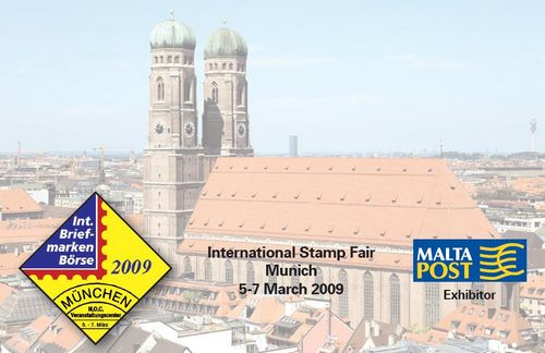 Postal Card for the International Stamp Fair in Munich