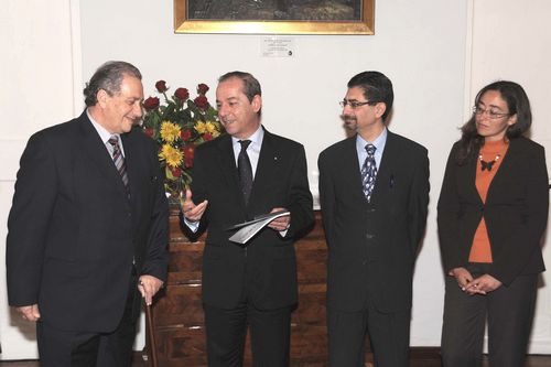 Il Majjistral Book presented to Prime Minister