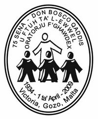 Special hand postmark for anniversary of Don Bosco