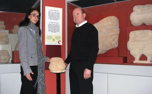 Heritage Malta receives replica Hagar Qim Statue