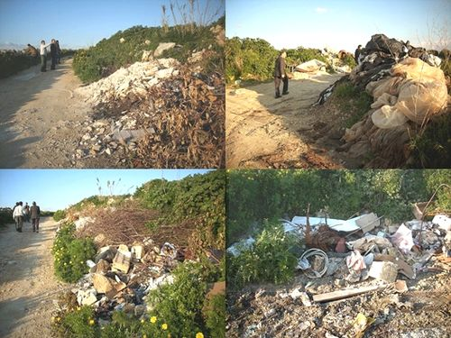 Ta' Lambert area lies abandoned in discarded waste