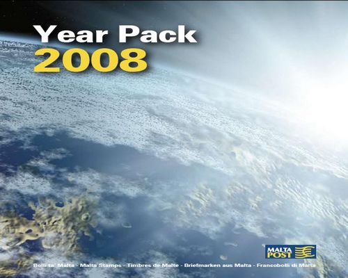 MaltaPost issues year pack with all 2008 stamps