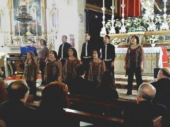Animae Gospel Choir performs at Gharb Basilica