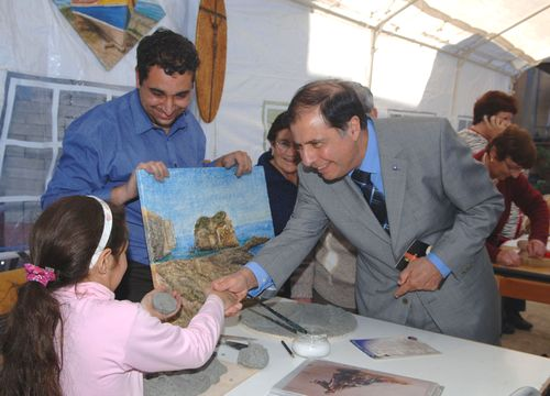 President George Abela visits the Arka Foundation