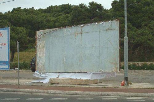 Hunters Federation billboard vandalised in Malta