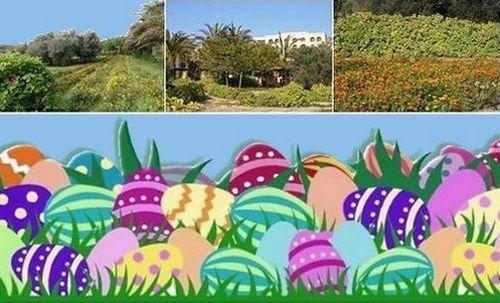 Easter egg hunt at Kempinski Hotel San Lawrenz