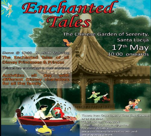 Enchanted Tales in aid of Appogg's Children's Fund