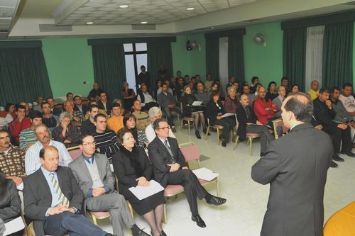 ETC schemes and services seminar in Gozo
