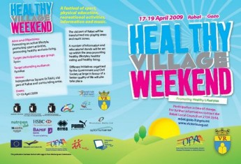 Victoria Healthy Village Weekend to be held