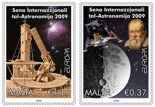 International Year of Astronomycommemorated in new stamp set