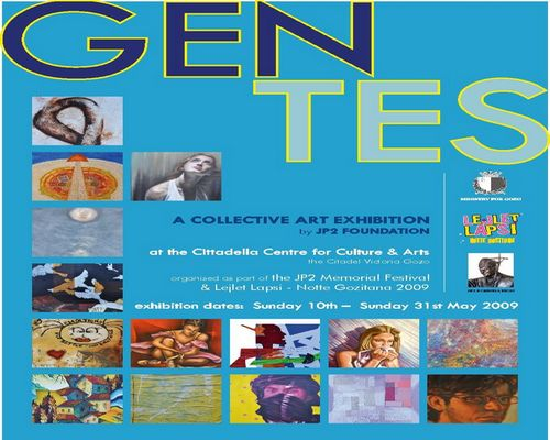 'GENTES' collective art exhibition at Cittadella Centre