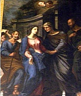 The feast of Our Lady's Visitation in Gharb