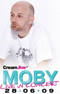 Vodafone competition for VIP tickets to Moby concert