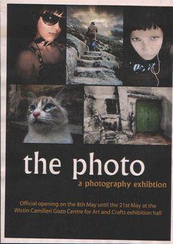 Photography exhibition inauguration at Ghajnsielem