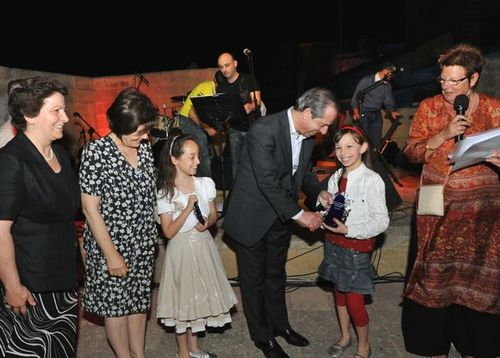 Prime Minister visits Lejlet Lapsi, Notte Gozitana