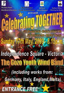 'Celebrating Together' Gozo Youth Wind Band