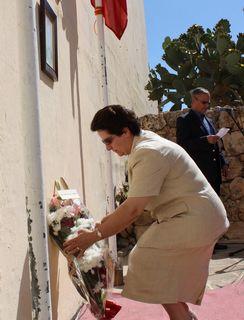 Sette Giugno commemorated at Xaghra