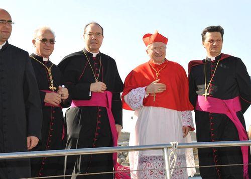 Pope's envoy Cardinal Ennio Antonelli visits Gozo
