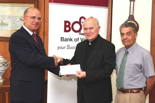 BOV lends a helping hand to Caritas