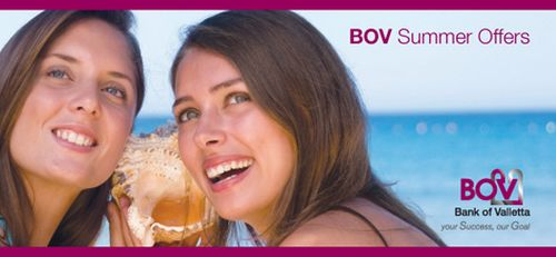 Great summer offers from Bank of Valletta