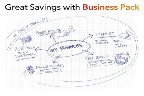 Great savings with GO Business Pack