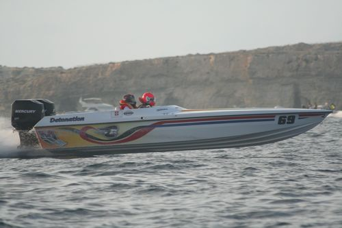 Mellieha Power Boat Grand Prix this month