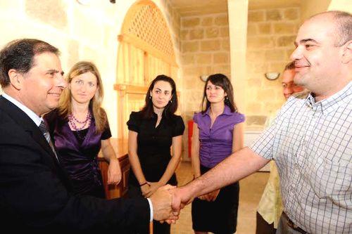 President George Abela visits Gozo's OASI Foundation