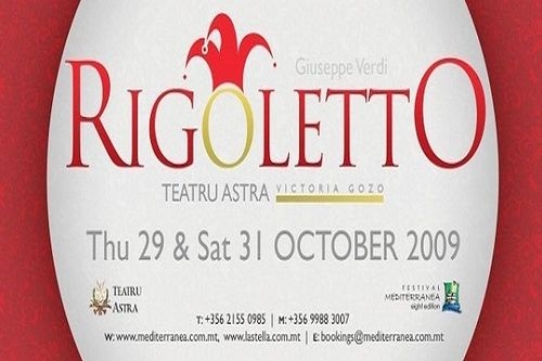 Verdi's Rigoletto coming to the Astra in October