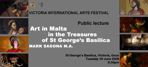 Art in Malta and the treasures of St George's basilica