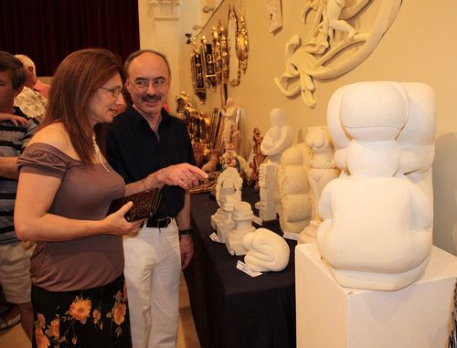 Wistin Camilleri Gozo Centre art and craft exhibition