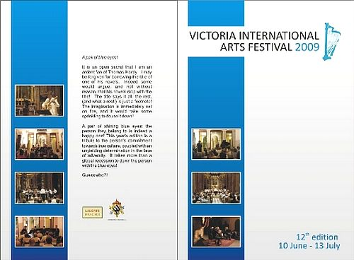 Victoria International Arts Festival gets underway