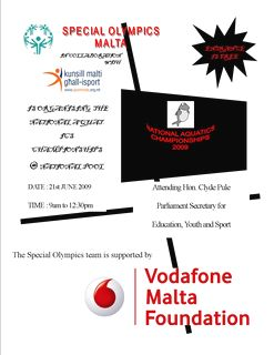 National Acquatic Championship for Special Olympics Malta