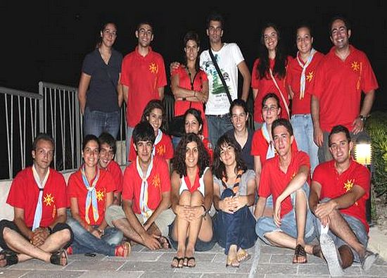 Xaghra Scout's host youths from Turkey and Portugal