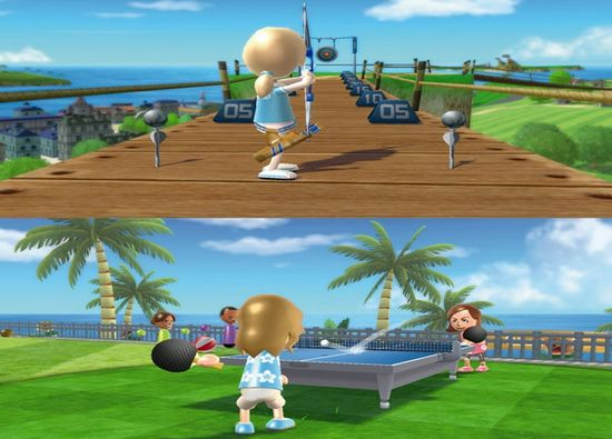 Kempinski Hotel host Nintendo Wii sports resort launch